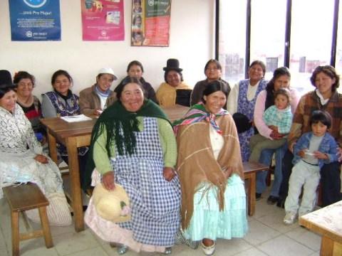 photo of Yanapasiñani Group