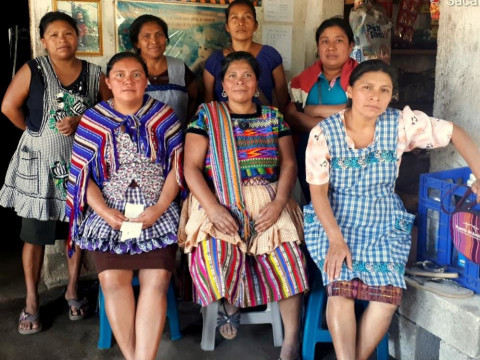 photo of Mujeres La Fe Alotenango Group