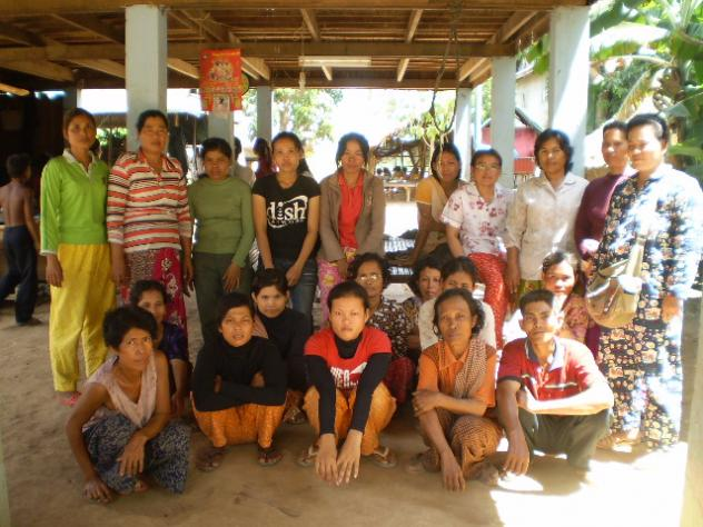 Mrs. Chhay Kemheng's Village Bank Group