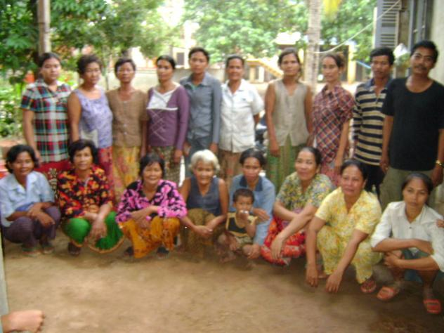 Mrs. Yann Na Teom Village Bank Group
