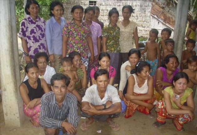 Mrs. Khmao Phan Village Bank Group