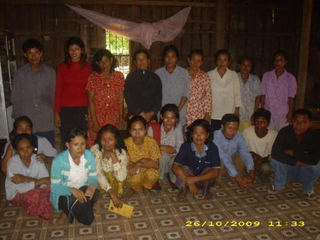 Mrs. Thach Pen Village Bank Group