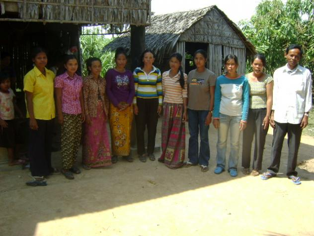 Mrs. Nen Nov Village Bank Group