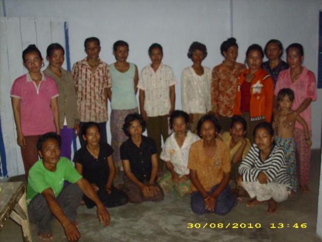 Mr. Pich Sam Oeurn Village Bank Group