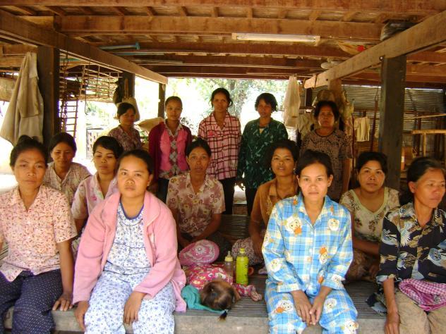 Mrs. Sopha Sang Village  Bank Group