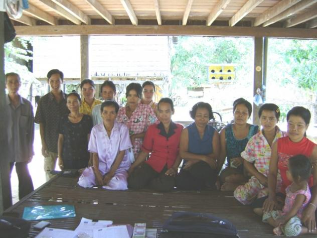 Mr. Tha Aom Village Bank Group