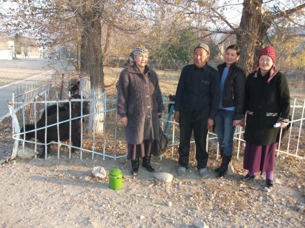 Rozakan Arzybaeva's Group