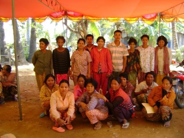 Mrs. Kunthea Koem Village Bank Group