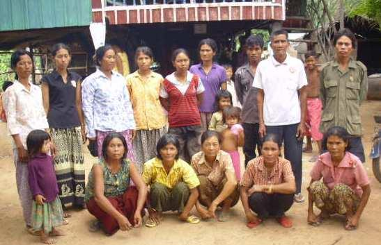 Mrs. Nhav Yeang Village Bank Group