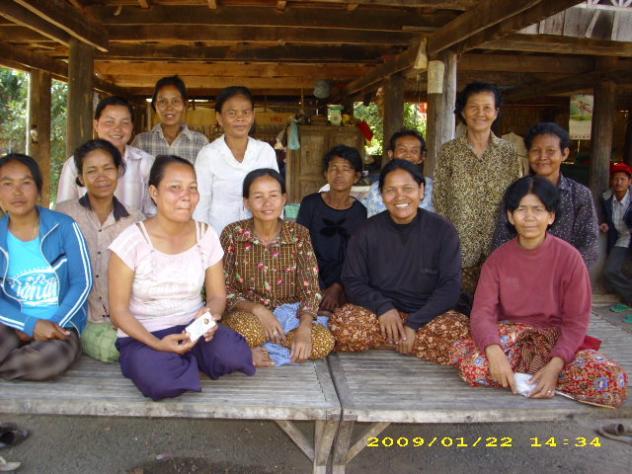 Mrs. Sambin Chhim Village Bank Group