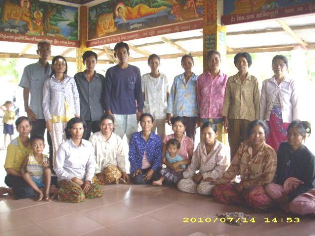 Mrs. Sim Horm Village Bank Group