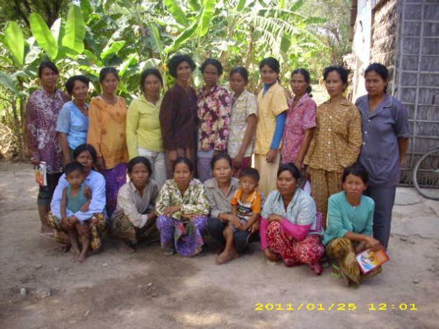 Mrs. Srey Phally Village Bank Group