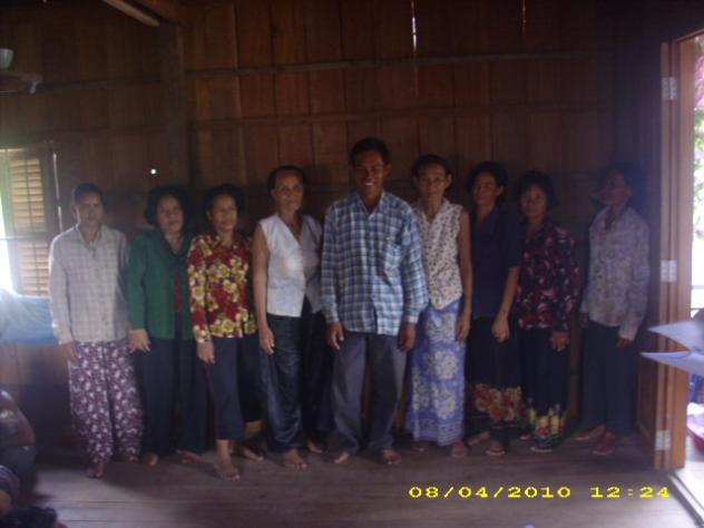 Mrs. Ny Sok Village Bank Group