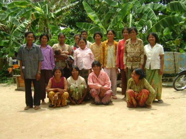 Mrs. Ken Khuy Village Bank Loan Group