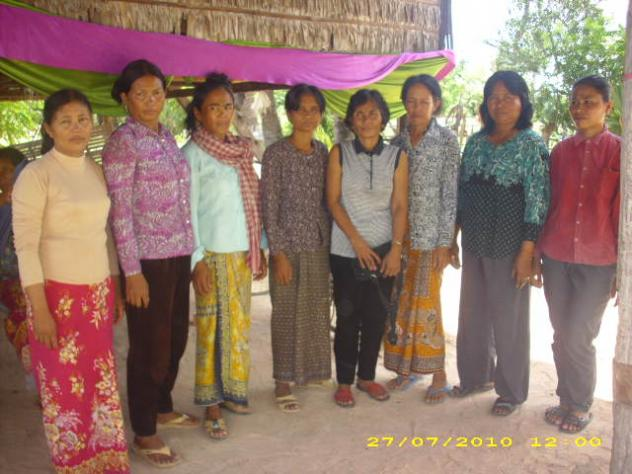 Mrs. Ith Aen Village Bank Group