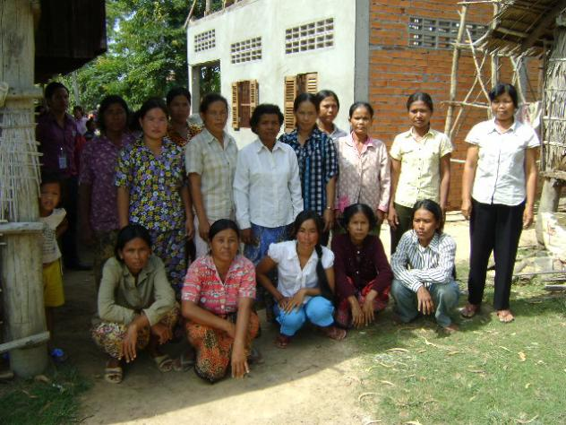 Mrs. Thoeun Chhin Village Bank Group