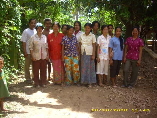 Mr. Phallin Hak Village Bank Group