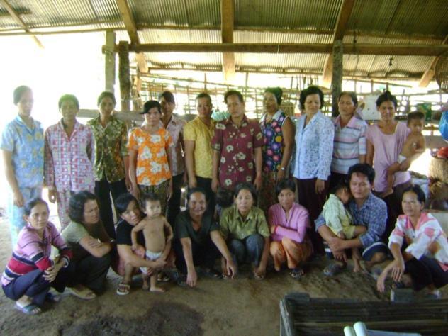 Mrs. Phin Sreng Village Bank Group
